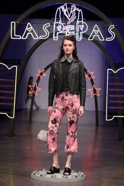 pantalon juvenil cari estampado Las pepas primavera verano 2017