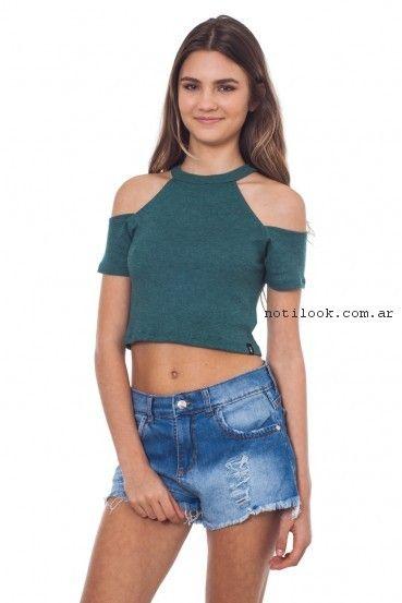 short de jeans juvenil verano 2017 - 47 Street