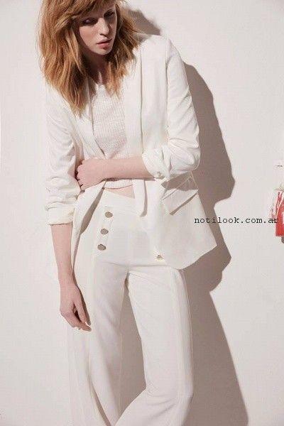 traje blanco mujer verano 2017 - Desiderata