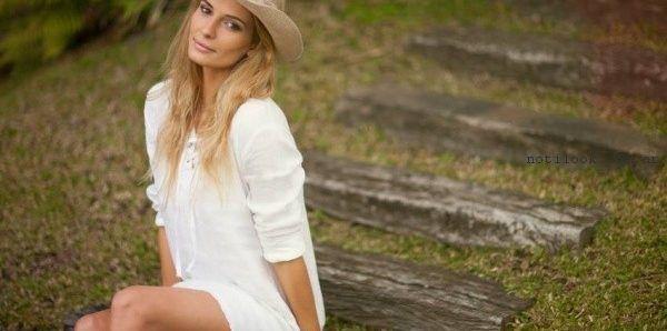 vestido blanco para el dia Zulas primavera verano 2017