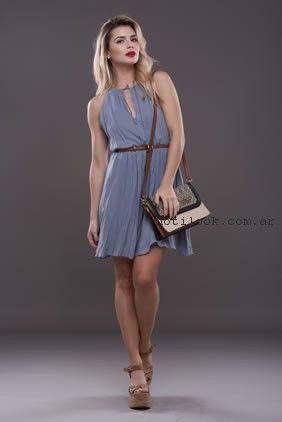 Vestidos para el dia primavera verano 2017 Alma Jeans  86c6b5fb2aa9