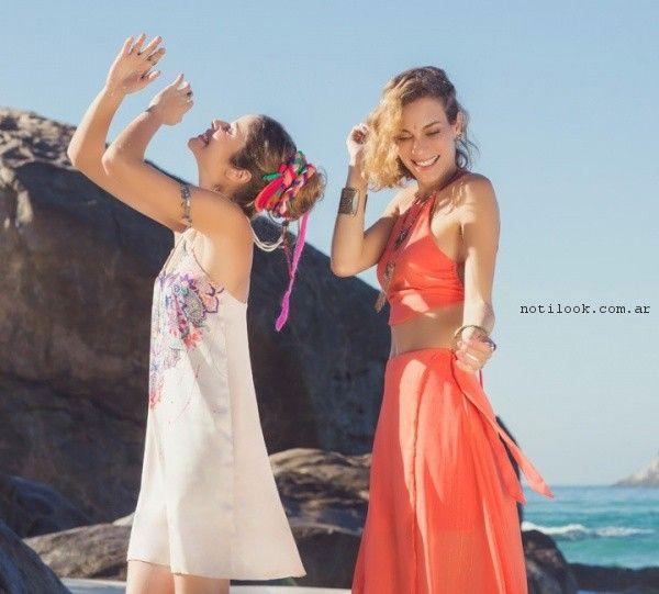 vestidos y faldas  verano 2017 - Rimmel