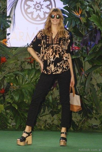 blusa estilo hindu mirta armesto verano 2017