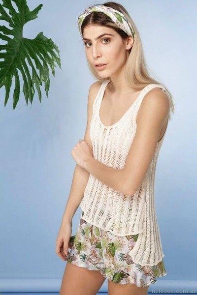 blusa tejida sweater de verano oversize millie primavera verano 2017