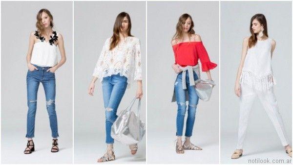 blusas de moda verano 2017 carmela achaval