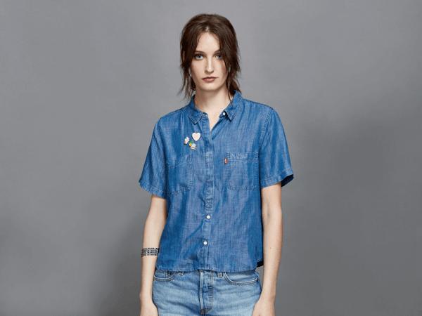 camisas denim levis primavera verano 2017