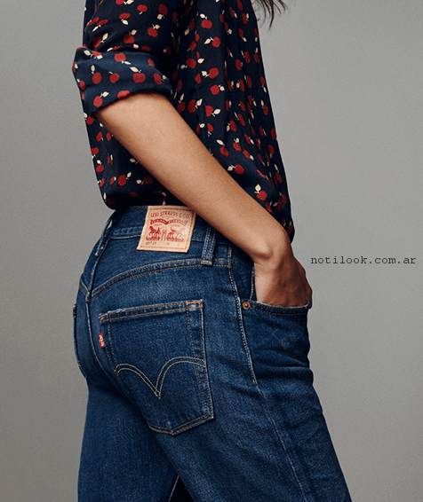 camisas para mujer estampadas levis verano 2017