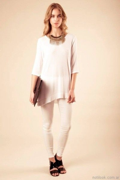 camisola blanca sarawak verano 2017