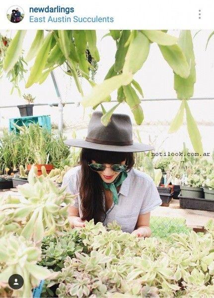 capelina gris compañia de sombreros primavera verano 2017