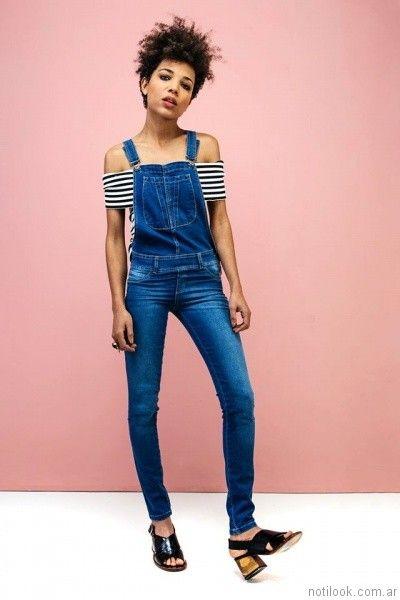 jardinero largo chupin tabata jeans primavera verano 2017
