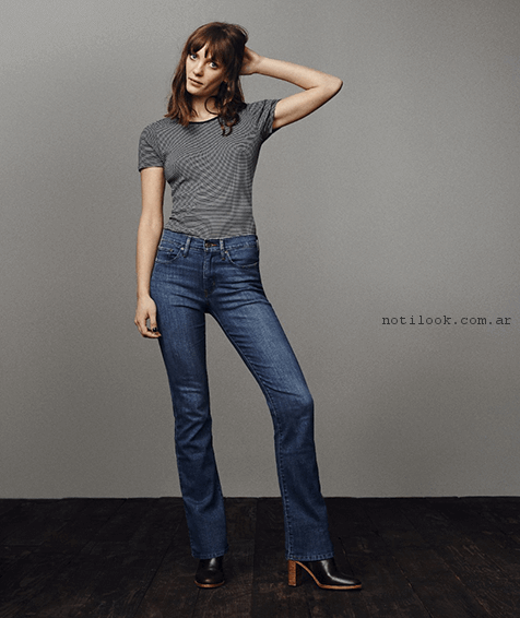 jeans basicos mujer levis primavera verano 2017