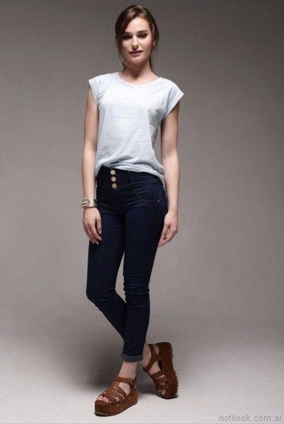 jeans chupin viga jeans verano 2017