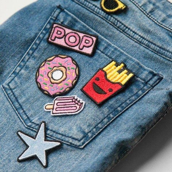 jeans con apliques verano 2017 - Como quieres que te quiera