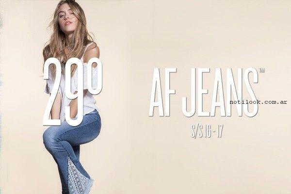 jeans con guipur af jeans verano 2017