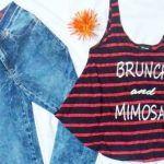 Look informal con Jeans Octanos primavera verano 2017