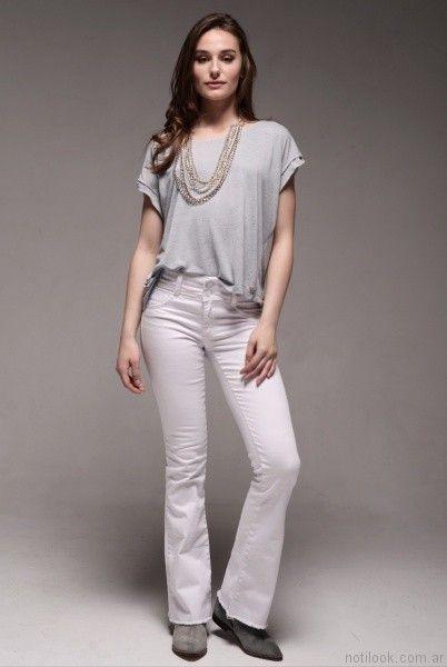 jeans oxford blanco viga jeans verano 2017