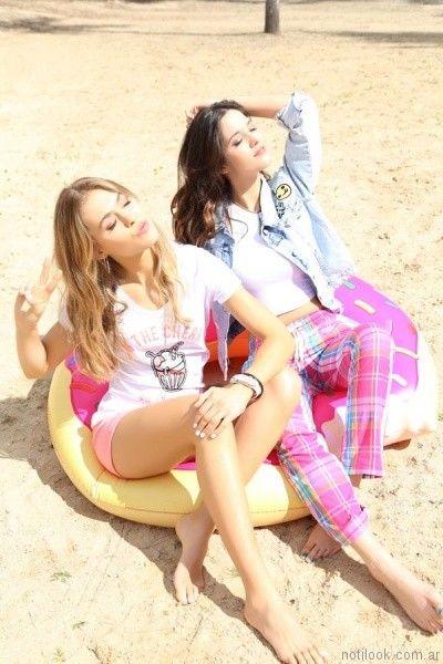 look casuales tuboos moda para teenager primavera verano 2017