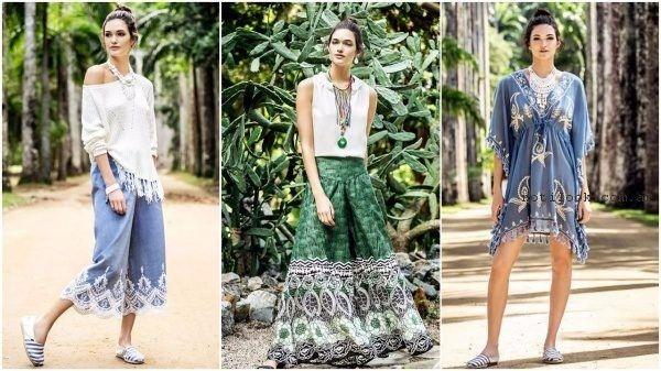 moda bohemia primavera verano 2017