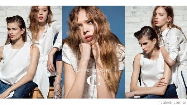 moda casual elegante para mujer verano 2017 carmela achaval