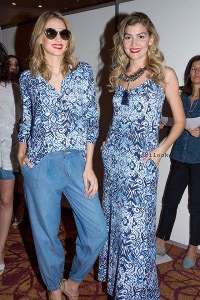 outfit frescos para señoras verano 2017 Adriana Costantini