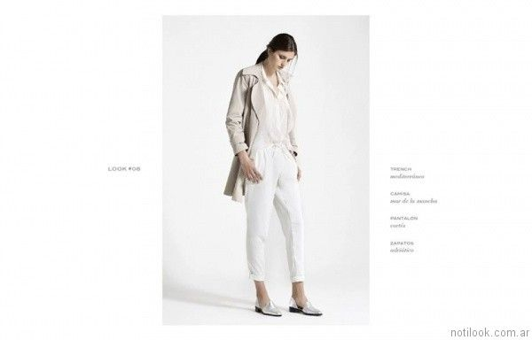 pantalon capri giesso mujer verano 2017