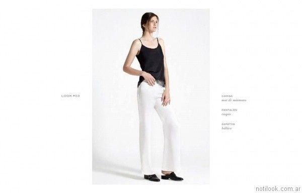 pantalon de vestir giesso mujer verano 2017
