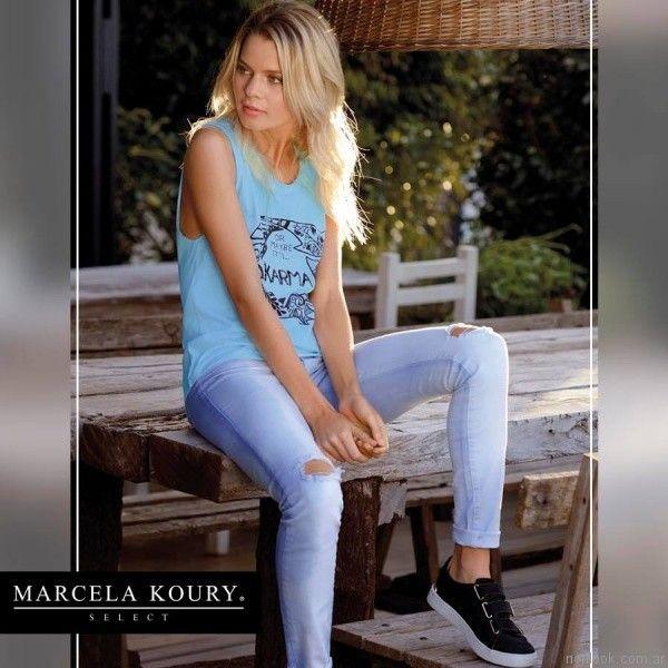 remeras con impresiones marcela koury select primavera verano 2017