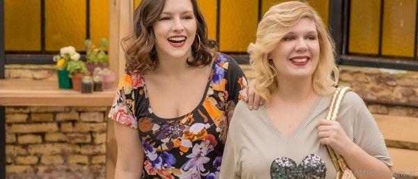 remeras para mujer en talles grandes portofem verano 2017