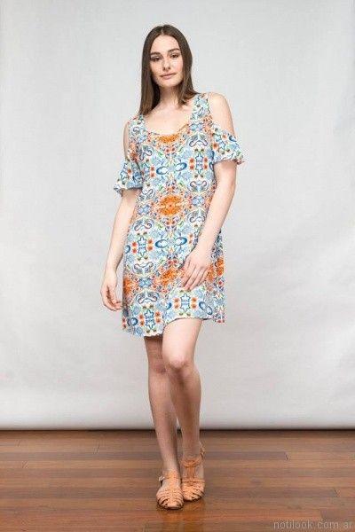 vestido corto para el dia kill primavera verano 2017
