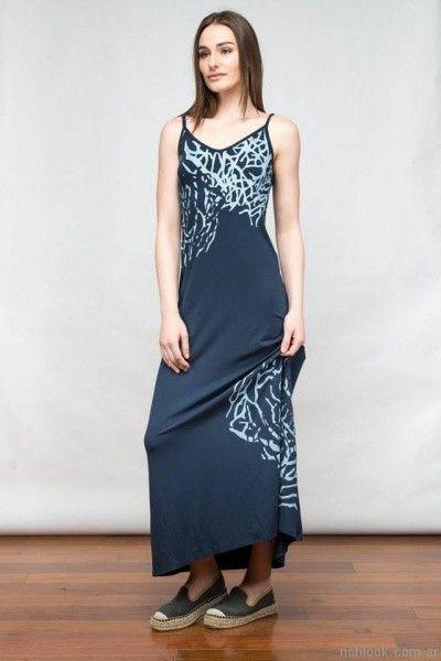 vestido largo informal kill primavera verano 2017
