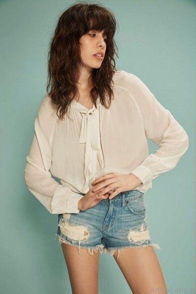 blusas blancas inversa verano 2017