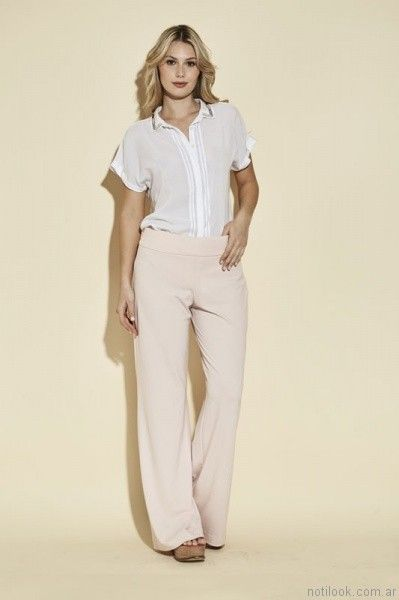 camisa mangas cortas mujer ted bodin verano 2017