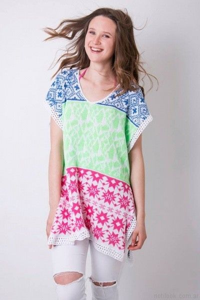 camisola a crochet verano 2017 enriquiana