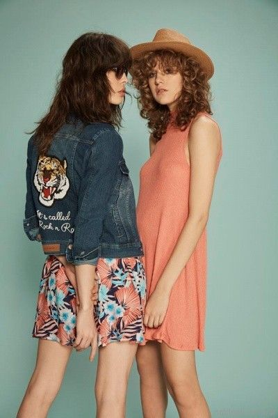 campera de jeans bordada inversa verano 2017