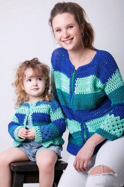 camperas a crochet verano 2017 enriquiana
