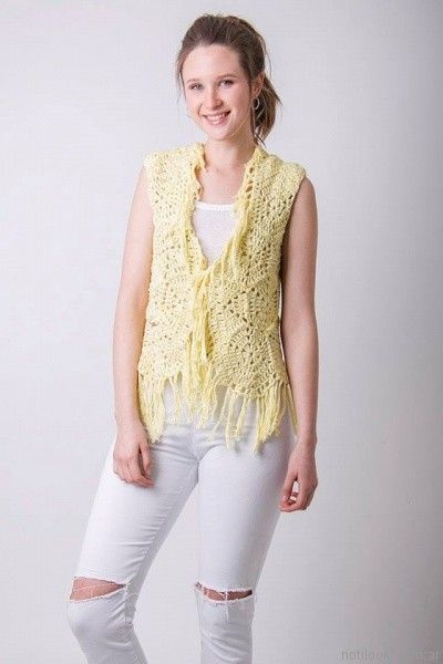chaleco a crochet verano 2017 enriquiana