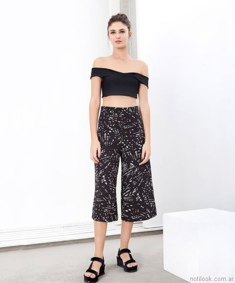 crop pant rie verano 2017