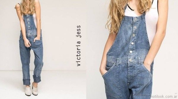 enterito de jeans victoria jess primavera verano 2017