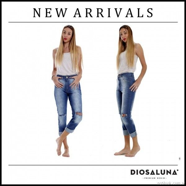 jeans capri diosa luna jeans verano 2017