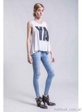 jeans elastizado ona saez verano 2017