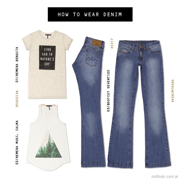 jeans oassian primavera verano 2017