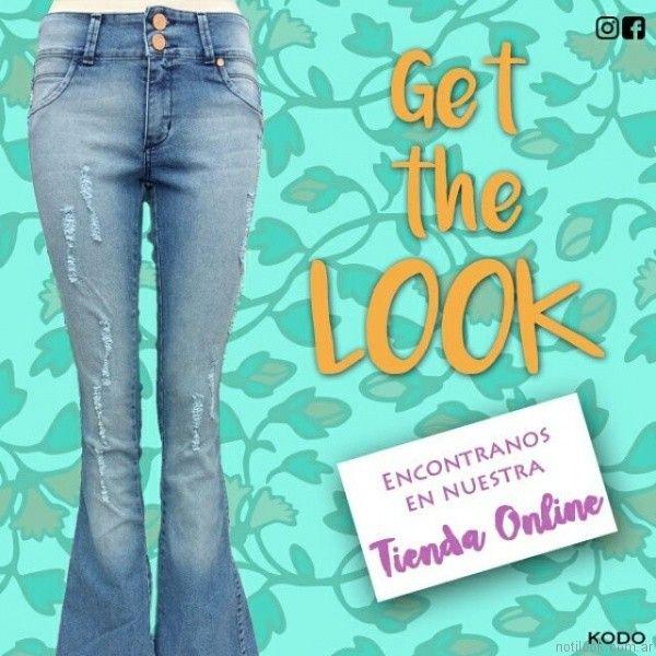 jeans oxford kodo jeans primavera verano 2017