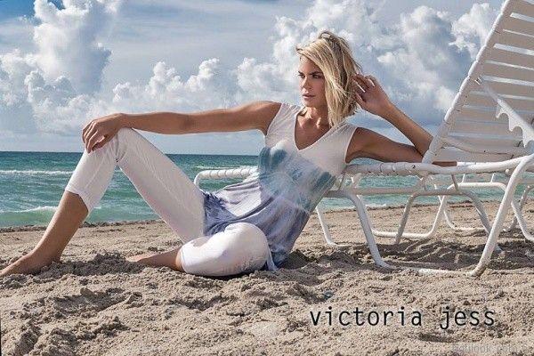 pantalon de gabardina blanco capri victoria jess primavera verano 2017