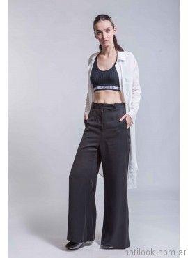 pantalon de vestir ancho ona saez verano 2017