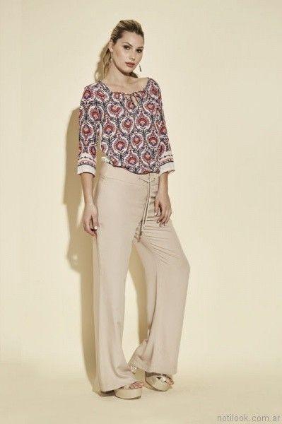pantalones de vestir mujer ted bodin verano 2017