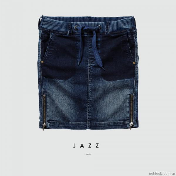 pollera de jeans pepe jeans verano 2017