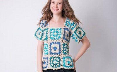 remera a crochet verano 2017 enriquiana