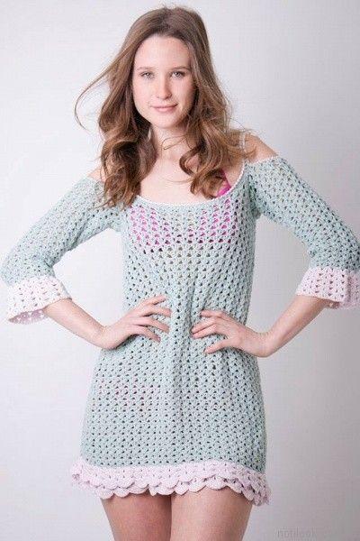 vestidos crochet verano 2017 enriquiana