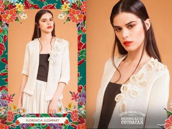 chaqueta tejida florencia llompart verano 2017