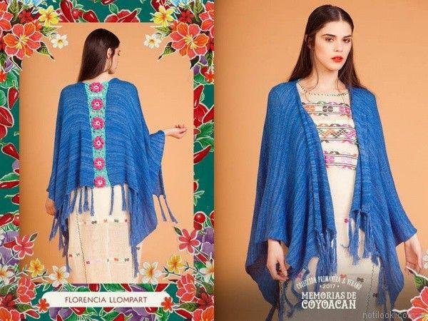 guarda de crochet poncho florencia llompart verano 2017